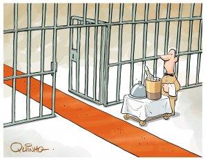 Uma cadeia muito chique