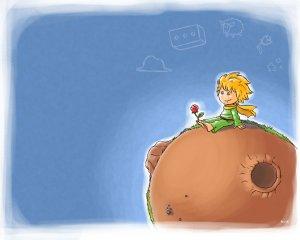 Imagem do livro O Pequeno Príncipe